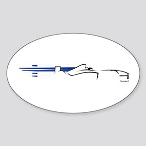 Formula 1 Finland Oval Sticker